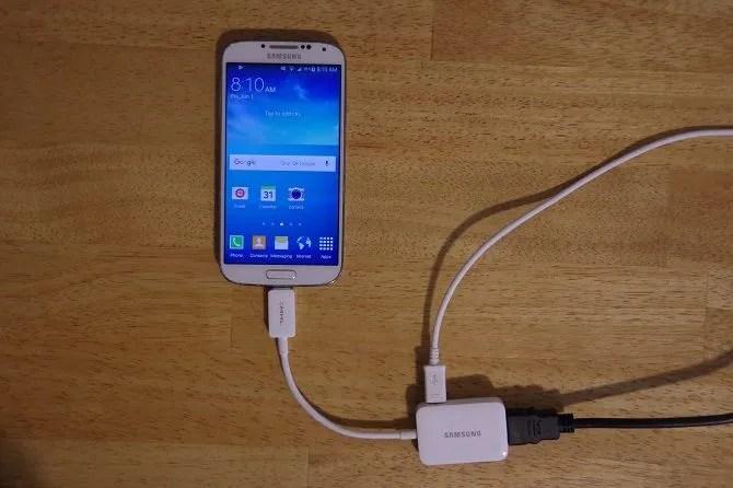 Come collegare il telefono al televisore Usando l'adattatore USB-samsung galaxy da s4 a TV mhl