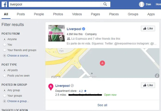 facebook liverpool 670x462 - 7 Facebook Search Tips to Find What You're Looking For