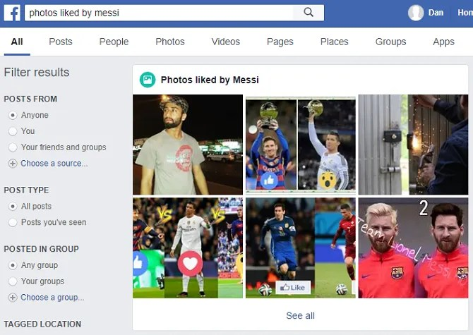 facebook photos messi 670x475 - 7 Facebook Search Tips to Find What You're Looking For