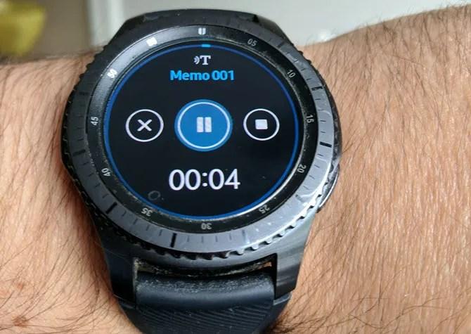 Samsung Gear Voice Memo