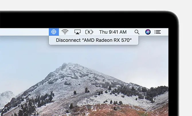eGPU Disconnect macOS High Sierra