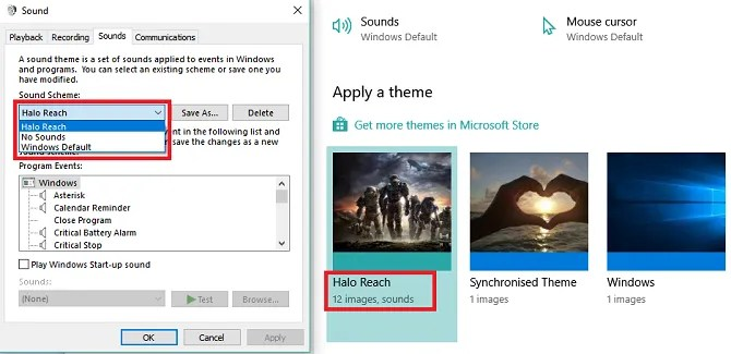 windows 10 new sound theme 670x325 - How to Customize Sounds on Windows 10 (And Where to Download Them)