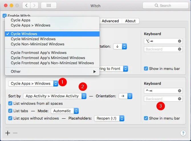 witch-application-panel-switcher-setup
