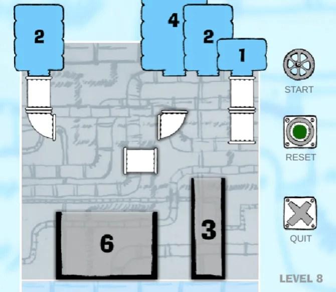 liquid measure puzzle game