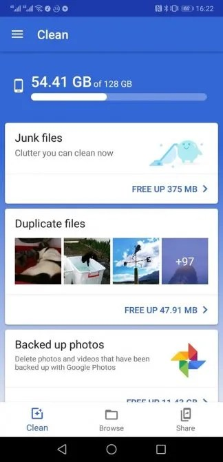 google files go 2 324x671 - The 5 Best Android Apps for Deleting Duplicate and Blurry Photos