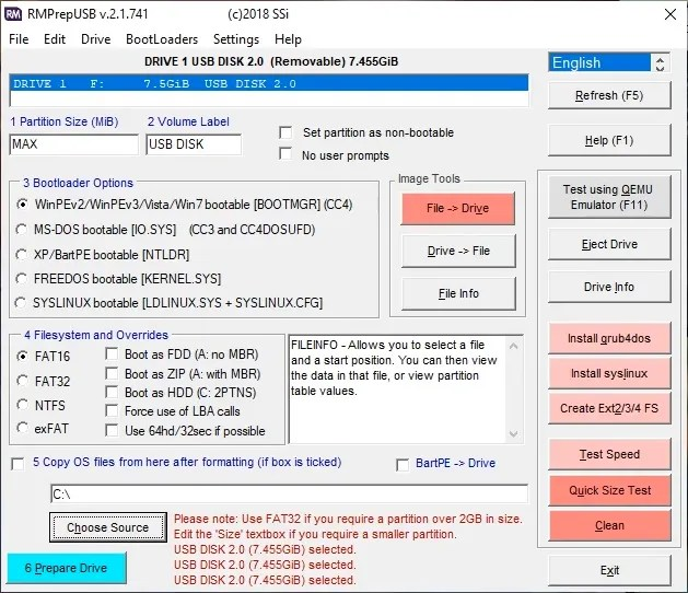iso to usb rmprepusb burning tool - 10 Tools to Make a Bootable USB From an ISO File