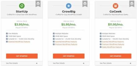 SiteGround monthly costs