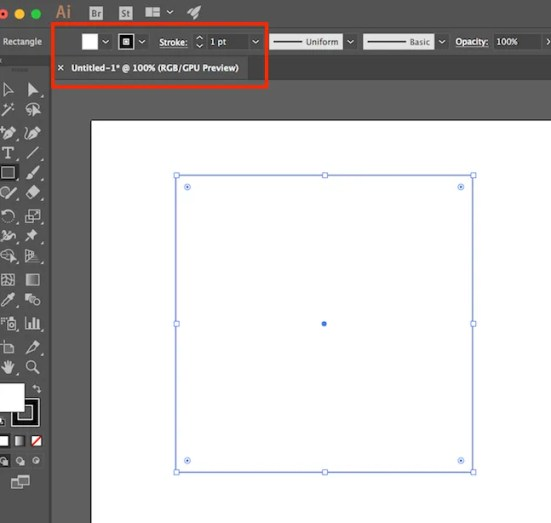 Illustrator Stroke Fill - How to Create a Table in Adobe Illustrator