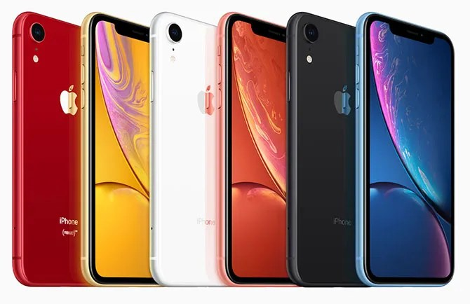 iphone xr colors - Apple's 2018 Event: 3 New iPhones and a New Apple Watch