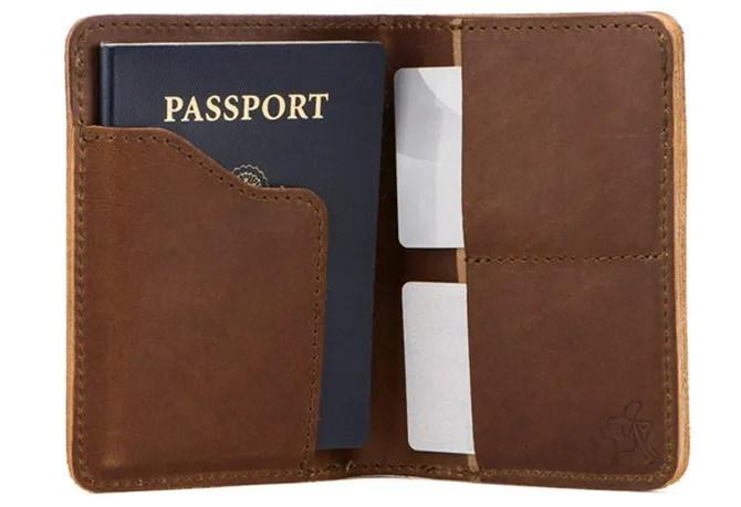 Saddleback Passport Wallet