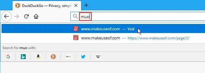 Utilizzare una parola chiave per visitare un sito con segnalibro in Firefox