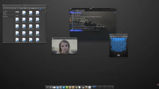 L'ambiente desktop Enlightenment