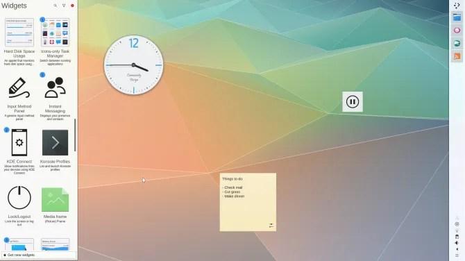 L'ambiente desktop Plasma KDE