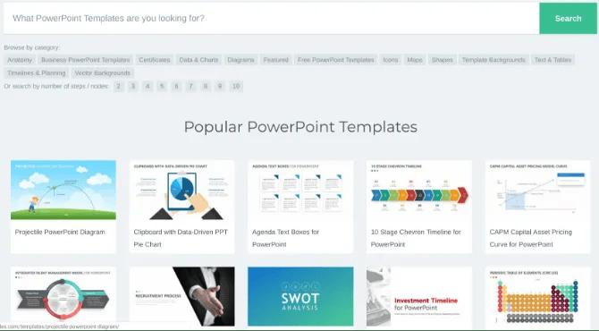 Pslides ha template gratuiti per powerpoint