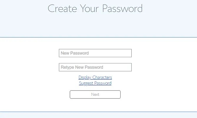 imposta la password bluehost