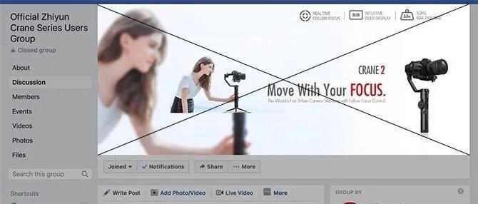 Dimensione foto di copertina del gruppo Facebook