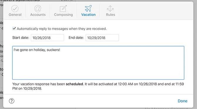 iCloud Mail Autoresponder