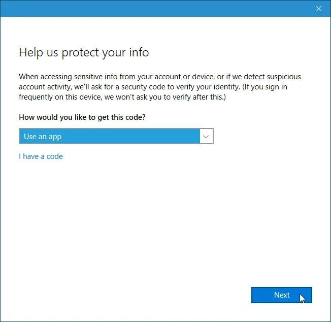 Scegli come ottenere il codice per sincronizzare gli appunti in Windows 10