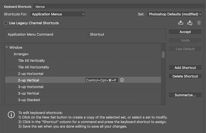 Custom-Keyboard-Shortcuts-Photoshop