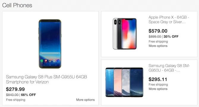 smartphone-ebay-nero-venerdì