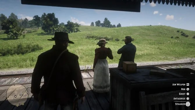 red dead redemption 2 greeting
