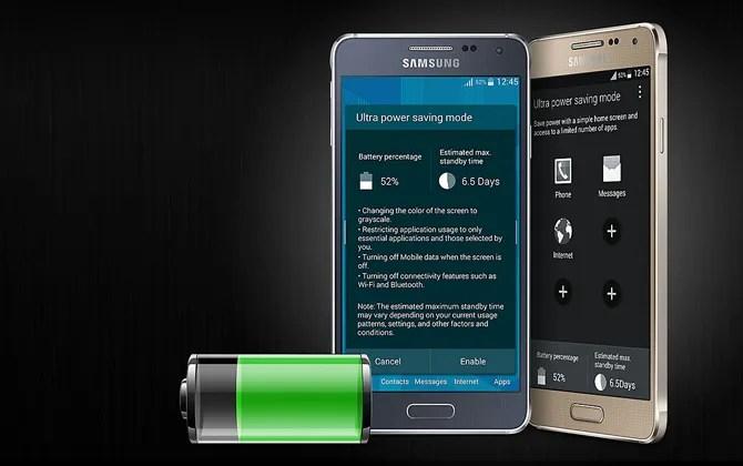 Samsung modalità di risparmio energetico