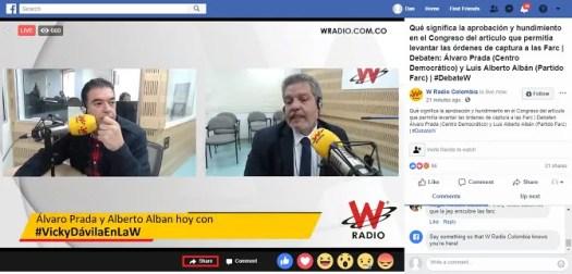 share video facebook live