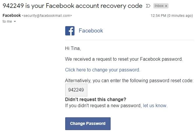 طريقة استعادة حساب فيس بوك عن طريق رقم الهاتف