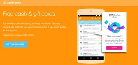 Cash Karma Paid Survey iPhone Android App
