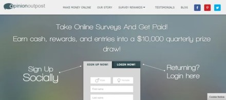 Opinion Outpost Paid Surveys Online Website