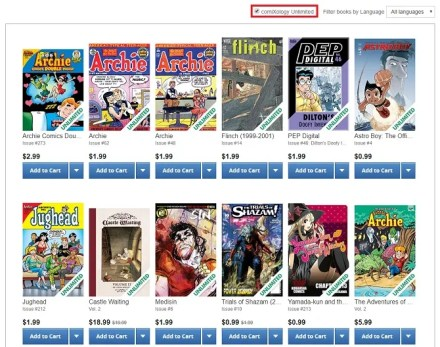 read digital comics issues online Archive publishers