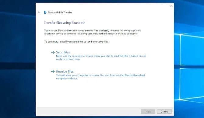 Файлдарды Bluetooth арқылы жіберіңіз