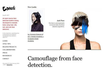 Avoid Facial Recognition - CV Dazzle
