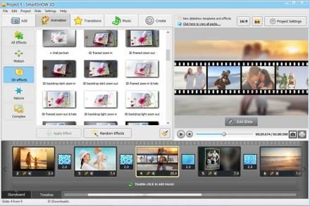 SmartSHOW 3D Screenshot 1