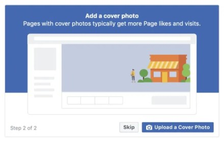 Add Cover Photo to Facebook Page