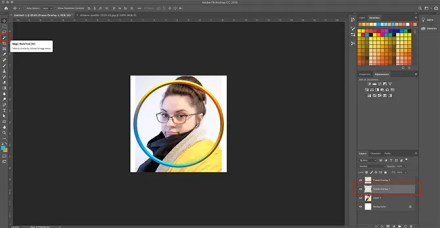 How to Make Virtual Photo Frame Photoshop Select Picture