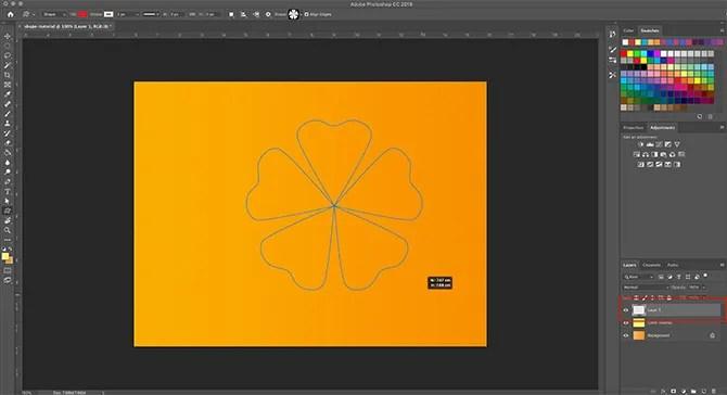 How to Use Custom Shape Tool Photoshop Draw Your Shape