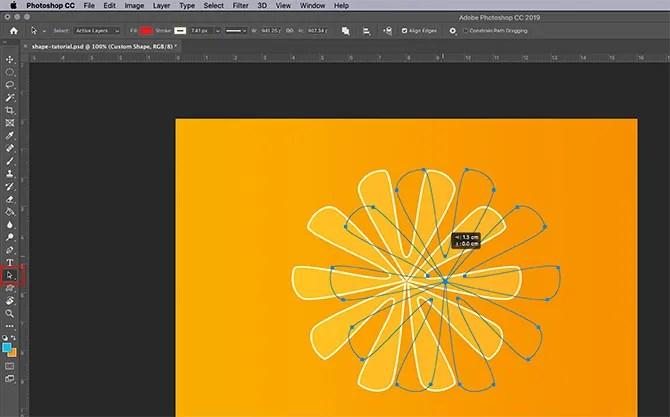 How to Use Custom Shape Tool Photoshop Path Selection