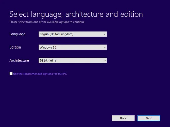 Set the correct language for Windows 10 - The Internet Tips