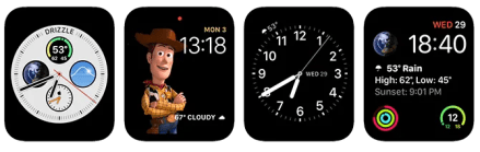 Apple Watch Complications Dark Sky App