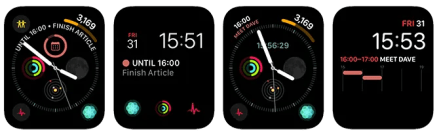 Apple Watch Complications Fantastical 2 App