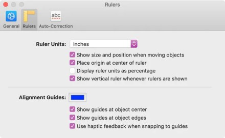 Show Alignment Guides in Pages on Mac