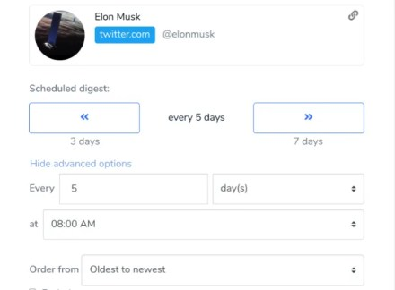 Ketchup lets you create custom email digests for Twitter