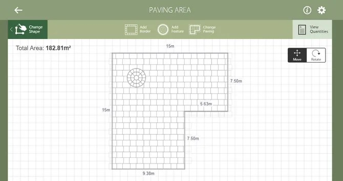 Marshalls Paver Design Planner Tool