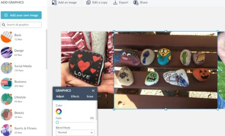 PicMonkey offers Facebook and other social network templates