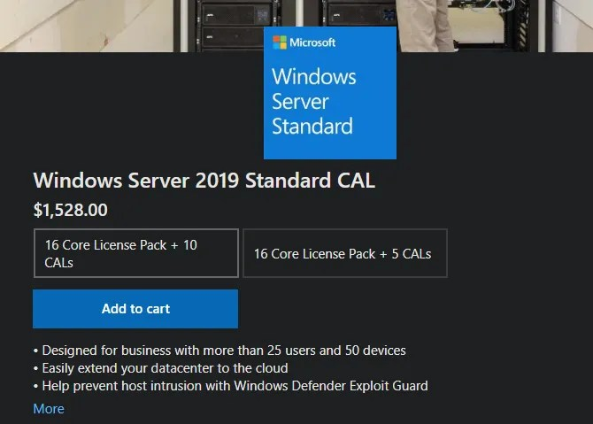 Buy Windows Server 2019