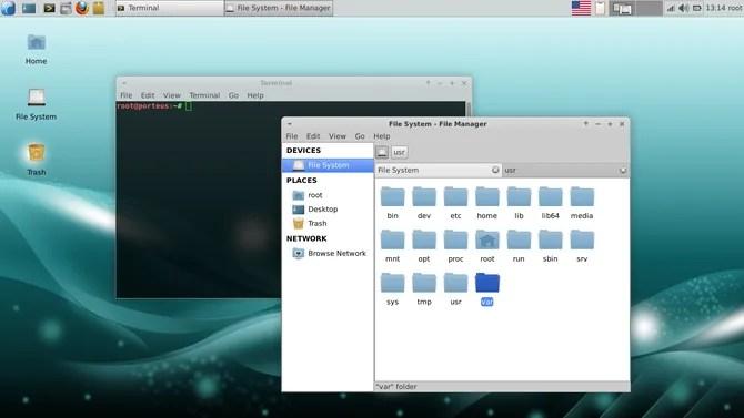 Porteus Linux distribution