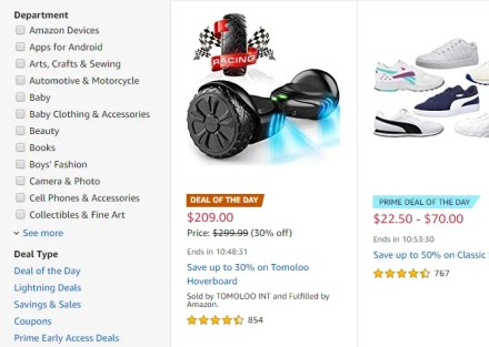 How to Get the Best Amazon Prime Day Deals amazon prime day gold box filtering searches