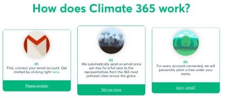 Climate 365 is the easiest digital activism platform for climate change