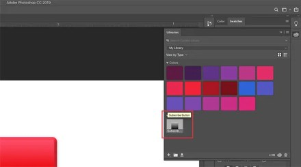 Save New Layer Style in Photoshop